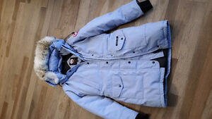 Med authentic periwinkle Canada Goose