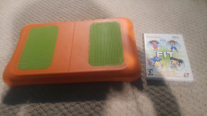 Nintendo Wii fit board for kids and kids fit games