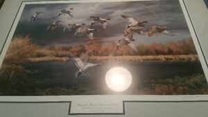 Ducks Unlimited 70th anniversary print.