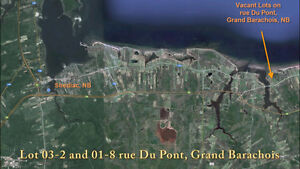 Waterview building lot in Grand Barachois
