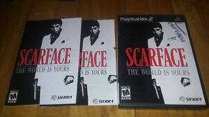 Scarface the world is yours ps2 complet 10$