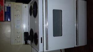 Fridge and stove