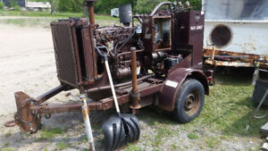 1993 guzzler hydraulic power pack