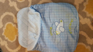 Cuddle bag for carseat