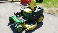 2012 JOHN DEERE Z655 ZERO TURN MOWER