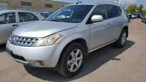 2006 Nissan Murano Leather Sunroof  $2400