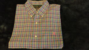 Polo Ralph Lauren dress shirt madraz brand new