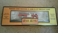 MTH Rail King Wagon Transport & Camion Pompier 30-7629