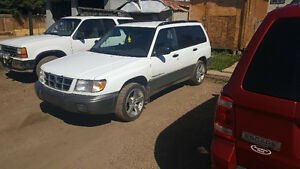 2000 Subaru Forester for trade or cash