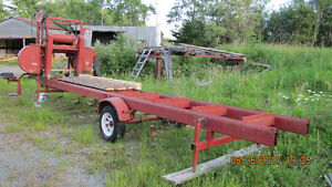 """"""" CLARK PORTABLE BAND SAW MILL """""""