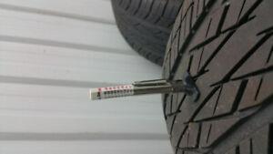 All season tires 225/55/17 ,Yokohama avid t4