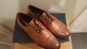 Cole Haan - Mens Dress Shoes - Dustin Cap Brogue - Size 11.5