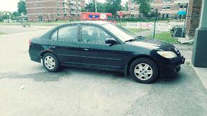 Honda Civic Sedan*** 2004 As is ***