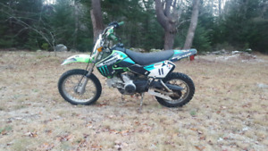 Klx 110 plus parts chassis