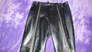 Woman's Leather Pants size 0