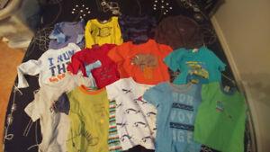 Lot vêtements garçon 2 ans
