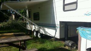 """27"""" fifth wheel trailer for sale"""