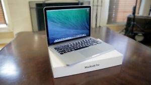 Macbook Pro 13 inch Retina 2.6 i5 8gb memory 256gb Office