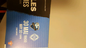 8 impact tickets row gg and hh section 122 royal blue for may 30