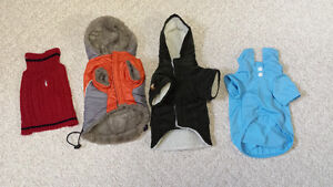"SMALL DOGS WINTER COATS ""NEW"""""