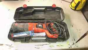 Black and Decker reciprocating saw