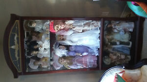 Beautiful porcelain dolls.