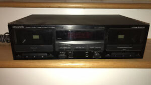 Kenwood Dual Cassette player