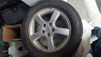 Used Touring contact continental Tires (P225/60R1)