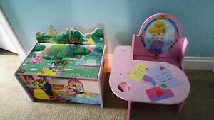 Disney Princess Toy Chest and Desk