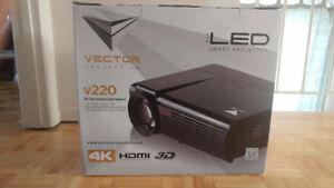 Projector V220 4K HD, NEUF! prix Négo