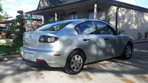 2007 Mazda3 Sedan, 4 Cylinder, Reliable Car