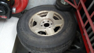 4 - 17 inch Mag wheels with Tires 6x139.7 Chevy Pickup