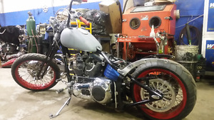 CUSTOM SPRINGER SOFTAIL CHOPPER