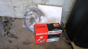 Honda civic LX New rear drum and pad breaks set