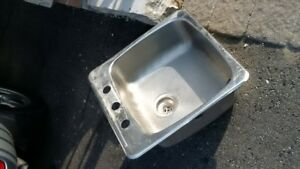 Stainless Steel Bar Sink-single tub