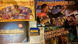VINTAGE BOARD GAMES FROM 80s AND 90s