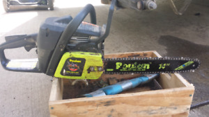 POULAN WOOD SHARK CHAINSAW