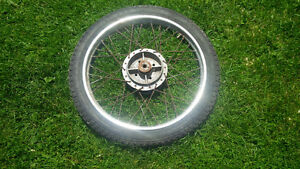 yamaha moped front wheel, 17""