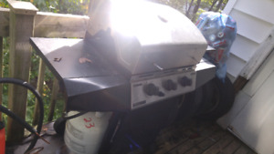 Stanless bbq and new tank