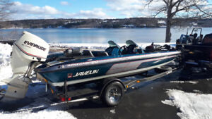 REDUCED!!- 20 Ft Javelin Bass Boat
