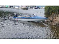 Fletcher speedboat 60hp