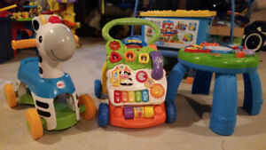 Three baby/ toddler toys