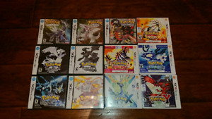Pokemon DS and 3DS 20$ or 200$ for all