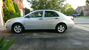 2008 corolla brand new clutch, sunroof and alloy wheels