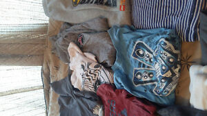 HUGE LOT OF BOYS NEW CLOTHING SIZE 10-12