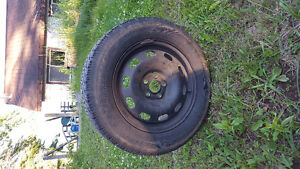 like new winter tires with rims