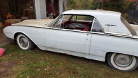 1961 Ford Thunderbird White on Red Leather 390HI 9Inch Diff