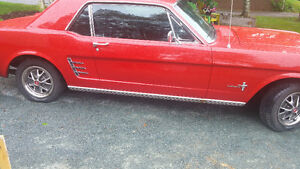 1966 Good Condition Ford Mustang