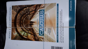 Calculus and its applications 11th ed. textbook