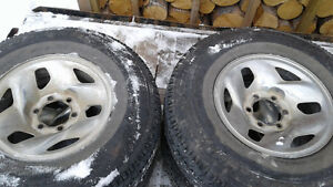 235/85/16 Michelin load range E on Toyota rims